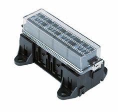 HELLA H84988001 4-Way Mini Relay Box
