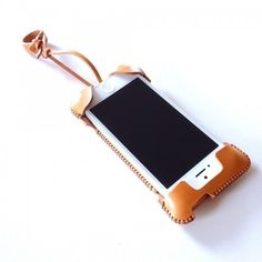 iPhone 5s cawa wallet jacket+/飴色 - abicase