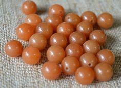 Red Aventurine 6mm Round Beads Gemstone Bead by SBBeadsAndCrafts