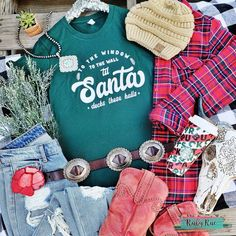 Dasher Prancer Blitzen Tee – Ruby Rue Jewelry & Accessories Black And White Flannel, Country Girls, Tees, Jewelry Accessories, Walls, Window, Unisex, Fit, Christmas