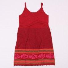 Spaghetti-Trägerkleid Rosa - rubin/burgunder 89,90