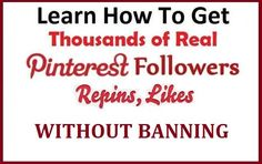 Learn How to make AUTHORATIVE and POPULAR Pinterest account in 2 weeks