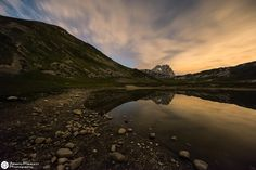 Natural Mirror In The Night by Alberto Paolucci