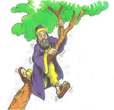 1. Story:   Tell the story of Zacchaeus meeting Jesus (based on Luke 19:1-10 )     2. Lesson   a. INTRO:     Last week, we heard how J...