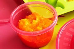 Good nutrition is important for growing babies, so fill your little one up with this homemade puree http://www.taste.com.au/recipes/28160/pumpkin+and+apple+puree+age+6+8+months
