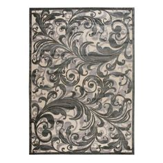 I pinned this Nantes Rug in Charcoal from the Nourison event at Joss and Main!