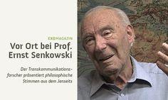 Vor Ort bei Jenseitsstimmen-Forscher Ernst Senkowski (Clip)
