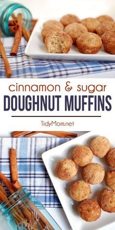 ... doughnut, with the ease of simply making muffins! Make mini muffins