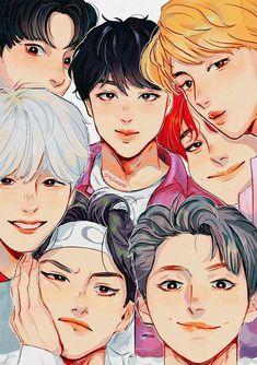 Are you ARMY? Or are you just keen on k-pop? Army Quiz App …bts Quiz Game - A. Bts Chibi, Bts Bangtan Boy, Bts Jimin, Bts Kawaii, Bts Anime, Bts Cute, Fanart Bts, Kpop Drawings, Bts Fans