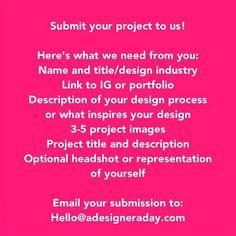 Highlighting a great designer: #adesigneraday #designer #graphicdesign #industrialdesign #productdesign #furnituredesign #visualdesign #rendering #handmade #modelmaking #doodle #designlife #designlove #mextures #illmatic #webdesign #architecture #fashiondesign #landscapingdesign