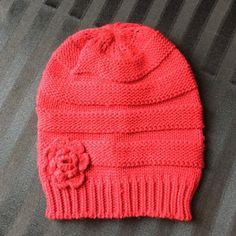 Beanie Super Cute Slouchy Beanie with Flower Accessories Hats