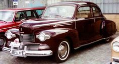 1942 Lincoln Zephyr V12 Coupe