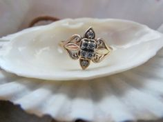 10k Diamond Ring, perfect ring for your high school sweetheart or graduate. EverythingIOwn  Etsy