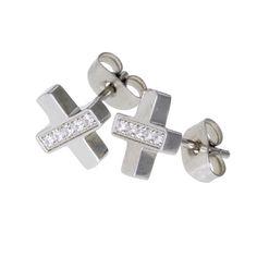 Ingnell Jewelllery - Fia stud steel. Stainless steel. www.ingnelljewellery.com