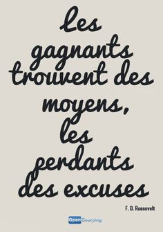 Citation, gagnants et perdants - F. French Phrases, French Words, French Quotes, More Than Words, Some Words, Me Quotes, Motivational Quotes, Inspirational Quotes, Quote Citation