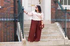 Danielle Vanier: Forget culottes, it's all about the wide leg trousers