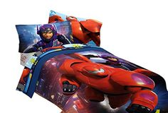 Disney Big Hero 6 72 by 86-Inch Microfiber Comforter, Twin/Full ** ADDITIONAL DETAILS @ http://www.ilikeboutique.com/boutique/disney-big-hero-6-72-by-86-inch-microfiber-comforter-twinfull/?c=3365