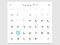 Date Picker  by Anthony Blackshaw