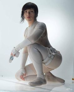 Scarlett Johansson as Motoko Kusanagi from Ghost In The Shell Scarlett Johansson en tant que Motoko Kusanagi de Ghost In The Shell