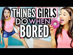 What To Do When You're Bored   MayBaby - YouTube