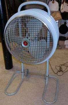 In the late 60's early 70's I had this fan in my bedroom until we got central air. Spent many hours singing into it. : )
