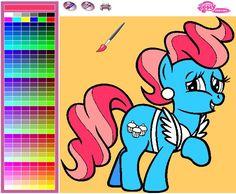 Mrs. Cake Kostenlose Online Ausmalbild von My Little Pony