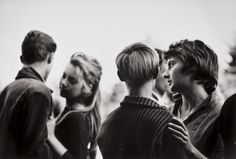 France, photography by Janine Nièpce, 1959.