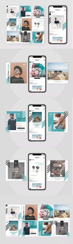 43 Ideas for fashion magazine layout design posts Instagram Mode, Instagram Fashion, Fashion Banner, Design Theory, Magazine Layout Design, Fashion Magazine Cover, Sale Poster, Social Media Design, Design Reference