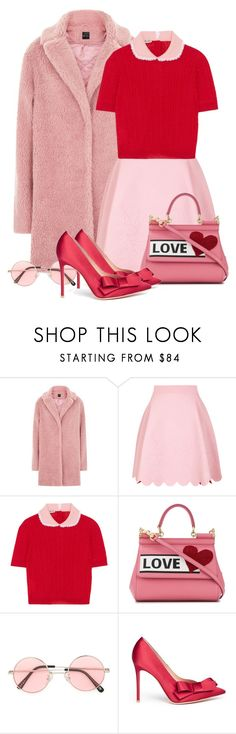 """""""Happy Valentines"""" by pure-vnom ❤ liked on Polyvore featuring Alexander McQueen, Miu Miu, Dolce&Gabbana, G.V.G.V. and Gianvito Rossi"""