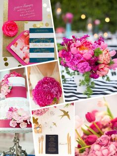 PANTONE 17-2034 Pink Yarrow wedding color 2017