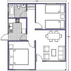 plano de casa m