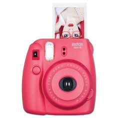 Raspberry Red Fujifilm Instax Instant Film Camera -  birthday gifts for tween girls