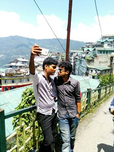 Selfie and friendship.