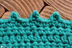 How to Crochet the Picot Stitch (Heart · Hook · Home) Half Double Crochet, Single Crochet, Hand Crochet, Crochet Hooks, Free Crochet, Crochet Picot Edging, Crochet Stitches, Crochet Trim, Nursing Cover Pattern