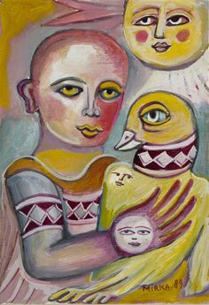 Works on Paper - Mirka Madeleine Mora - Page 2 - Australian Art Auction Records Orange Art, Painting Collage, Indigenous Art, Naive Art, Aboriginal Art, Outsider Art, Australian Artists, Art Auction, Sculpture