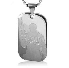 Call of Duty Modern Warfare 3 Dog Tag Pendant Necklace