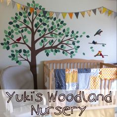 Quilt, bunting, and mobile