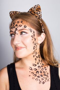 Your trusty ole liquid eyeliner is about to get a starring role in your Halloween costume. You can create a ton of costumes like this Leopard look with just one makeup item.