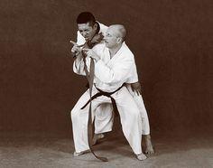 Hapkido photos of Master Marc Tedeschi performing Hapkido techniques
