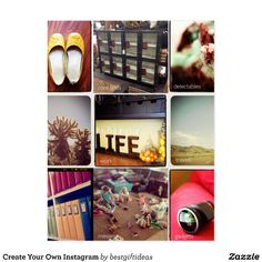 Create Your Own Instagram Postcard