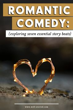 Anatomy of a Romantic Comedy: Seven Essential Story Beats — Well-Storied. Pre Writing, Writing Advice, Writing A Book, Writing Prompts, Writing Romance, Writing Resources, Writing Corner, Writing Humor, Emotions Revealed