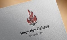 Logo design for the prayer house Haus des Gebets in St. Georgen, Germany.