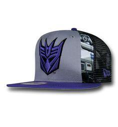 Transformers Decepticon Slice 9Fifty Cap. Hip Hop OutfitsNew Era ... 5bf1eb4e66dc