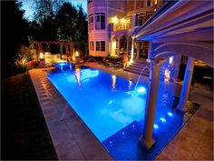 Design A House - What do you think about placing a swimming pool in the bathroom? Maybe, it is not really common. Even if a s