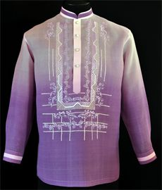 Men's Sale Barongs R Us committed to offer qualitative and extensive range of original Barong suits, dresses, branded clothing, Barong Tagalog for men & Filipiniana dresses for women. Barong Tagalog For Women, Filipiniana Dress, Line Shopping, Mens Sale, Mandarin Collar, Flower Dresses, Lavender, Graphic Sweatshirt, Tuxedo