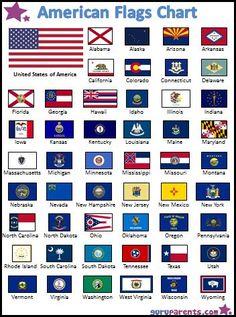 vlaggen van staten