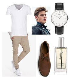 """""""Untitled #253"""" by stylesonlyy ❤ liked on Polyvore featuring SELECTED, Yves Saint Laurent, Daniel Wellington, mens, men, men's wear, mens wear, male, mens clothing and mens fashion"""