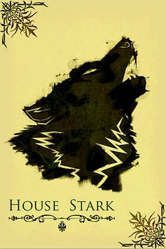 Game of Thrones poster movie art minimalist poster geekery art print sci fi print House Stark Arte Game Of Thrones, Game Of Thrones Poster, Game Of Thrones Houses, House Stark, Winter Is Here, Winter Is Coming, Geeks, Tatto Viking, Game Of Trone