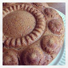 Ontbijtkoek | Blond met een groen geloof