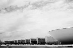Brasilia again. :) This time the view of the Esplanade with the various Ministries Offices and the National Congress. . . . . . . #fuji #fujifilm #fujiseries #VSCOcam #igersbrasilia #igersbrasil #travellife #bw #bws_worldwide by Patrick Silveira